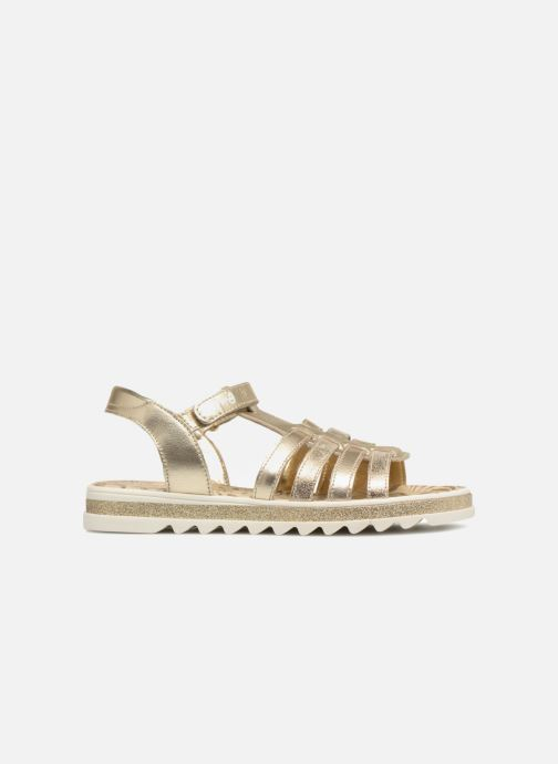 Sandales et nu-pieds Primigi Elda Or et bronze vue derrière