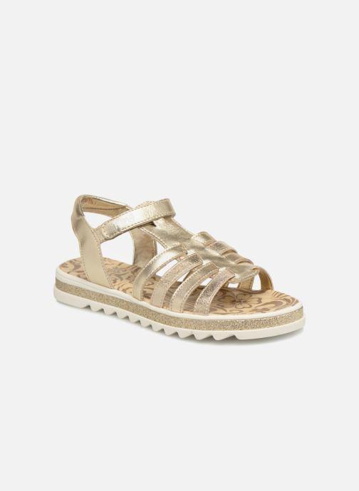 Sandales et nu-pieds Primigi Elda Or et bronze vue détail/paire