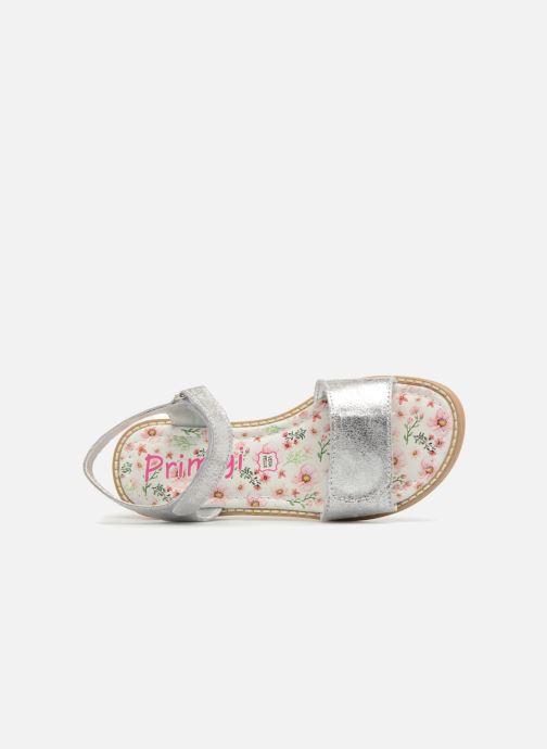 Sandales et nu-pieds Primigi Raila Argent vue gauche
