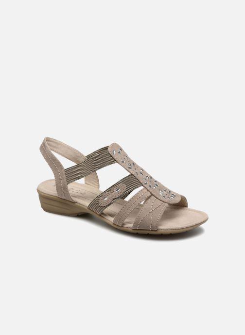 Sandales et nu-pieds Jana shoes Hermosa Beige vue détail/paire