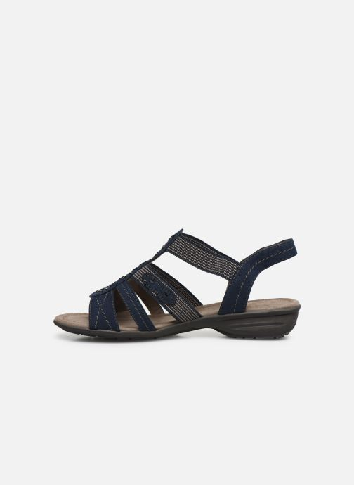 Sandali e scarpe aperte Jana shoes Hermosa Azzurro immagine frontale