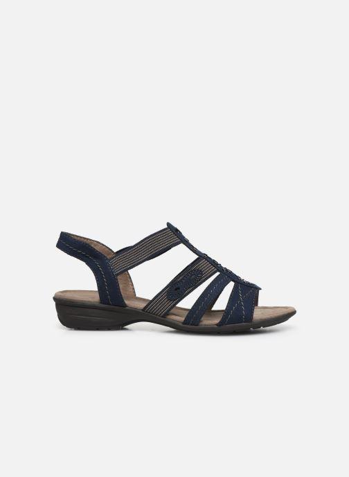 Sandalen Jana shoes Hermosa Blauw achterkant