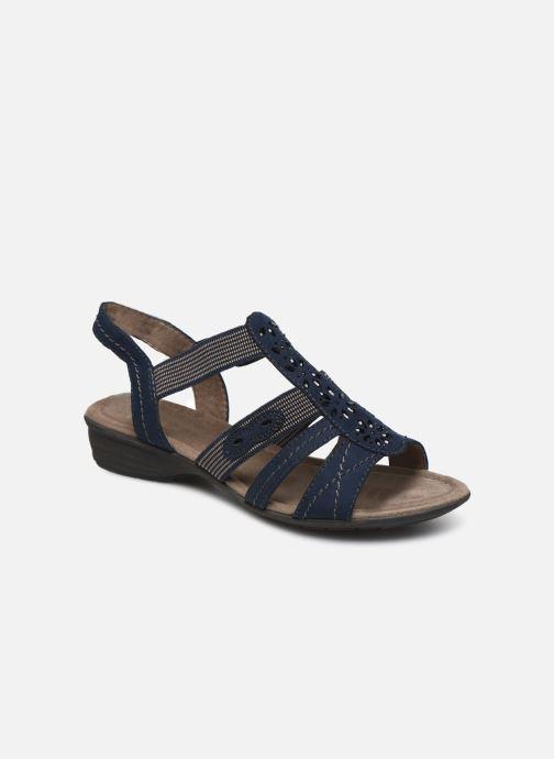Sandales et nu-pieds Jana shoes Hermosa Bleu vue détail/paire
