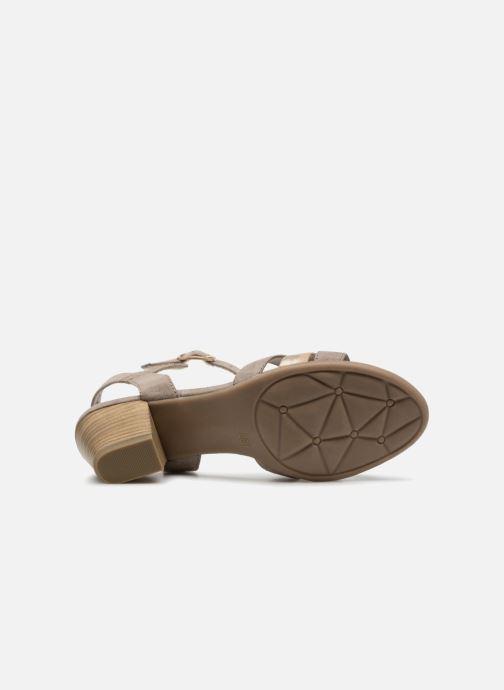 Shoes Sandales beige Et Chez Sarenza 322418 Pieds Nu Jana Carletta dawTvv