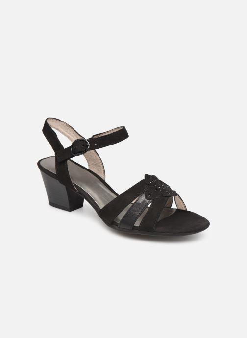 Sandales et nu-pieds Jana shoes Carletta Noir vue détail/paire