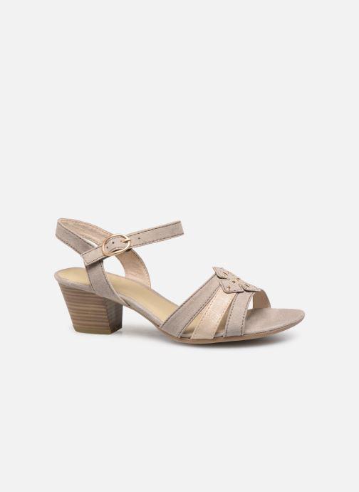 Sandaler Jana shoes Carletta Beige se bagfra