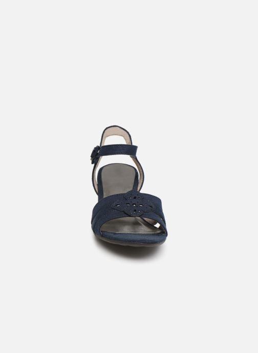 Sandalias Jana shoes Carletta Azul vista del modelo