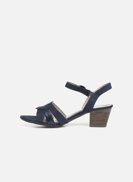 Sandalias Jana shoes Carletta Azul vista de frente