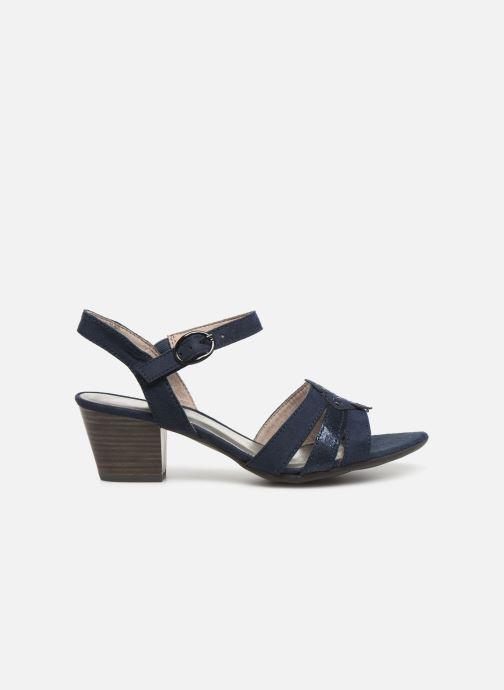 Sandalias Jana shoes Carletta Azul vistra trasera