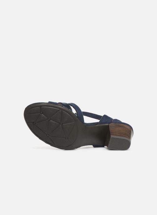 Sandales et nu-pieds Jana shoes Carletta Bleu vue haut