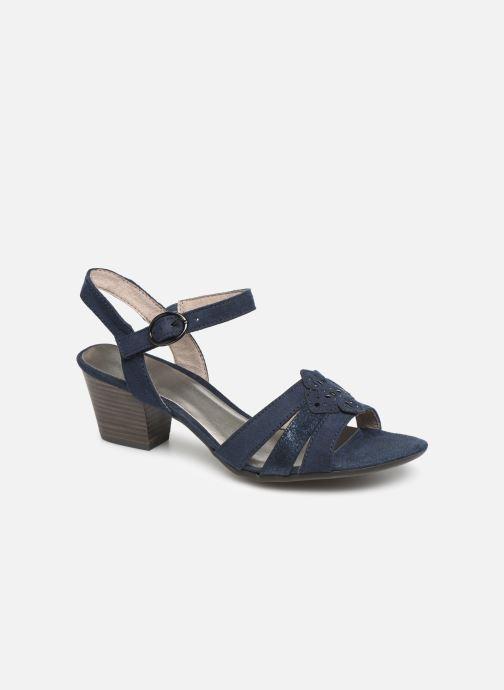 Sandaler Jana shoes Carletta Blå detaljeret billede af skoene