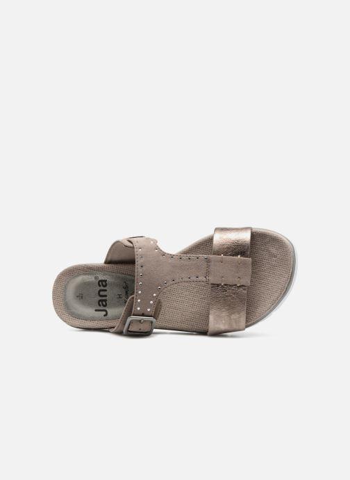 Mules et sabots Jana shoes Odelia Marron vue gauche