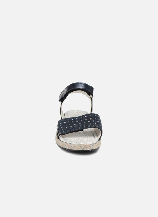 Sandales et nu-pieds Primigi Klara Bleu vue portées chaussures