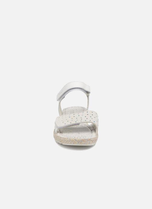 Sandales et nu-pieds Primigi Klara Blanc vue portées chaussures