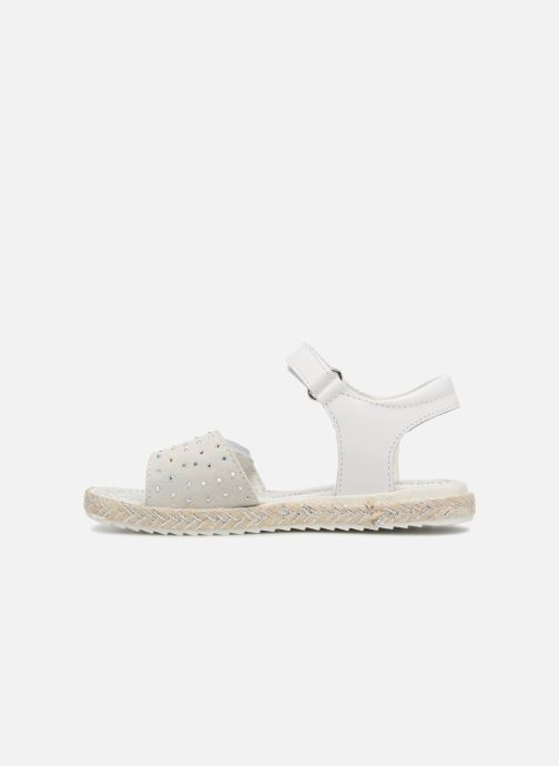 Sandali e scarpe aperte Primigi Klara Bianco immagine frontale