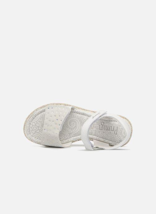 Sandales et nu-pieds Primigi Klara Blanc vue gauche