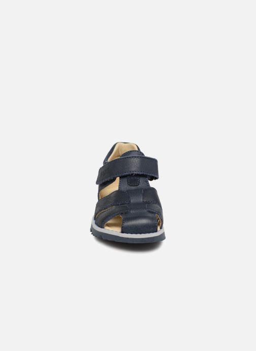 Sandales et nu-pieds Primigi Sabino Bleu vue portées chaussures