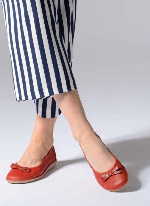 TBS Macash--F7G76 (Rood) - Ballerina\'s  Rood (Rouge + Blush) - schoenen online kopen