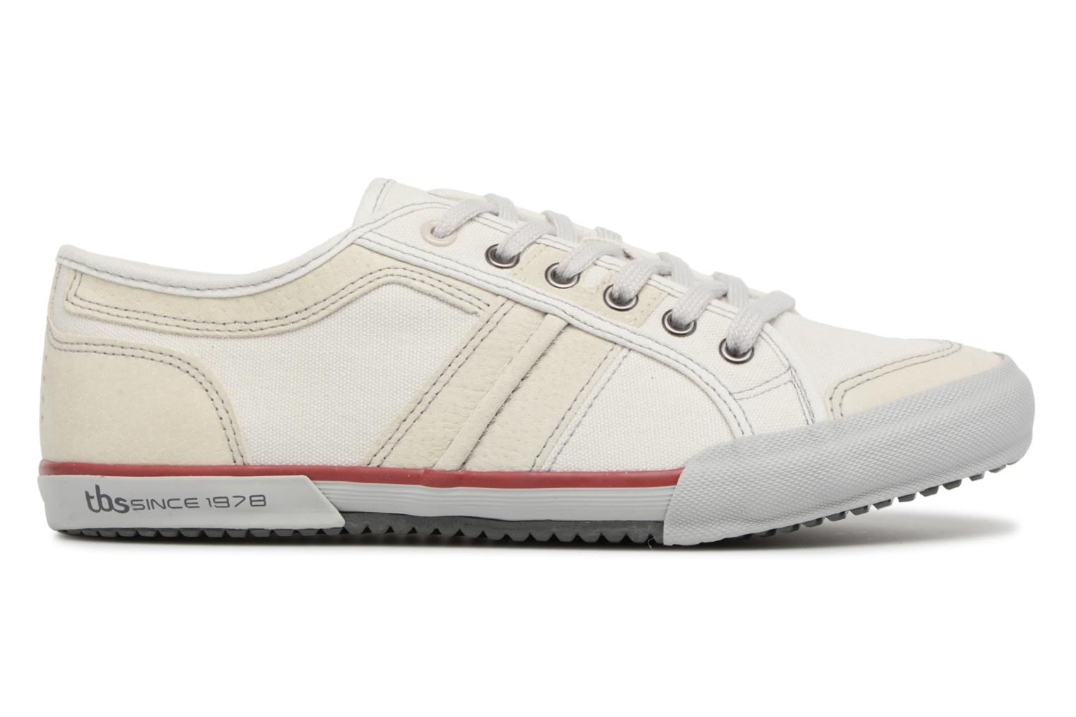 Trainers TBS Edgard-8097 White back view