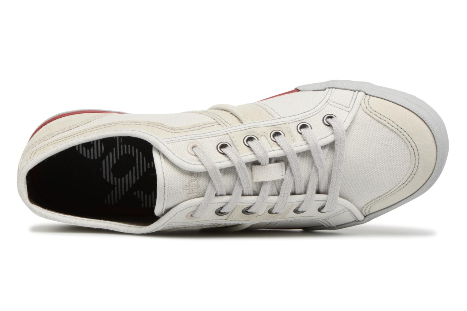 Trainers TBS Edgard-8097 White view from the left
