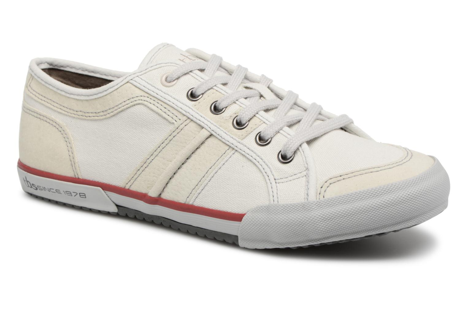 Trainers TBS Edgard-8097 White detailed view/ Pair view