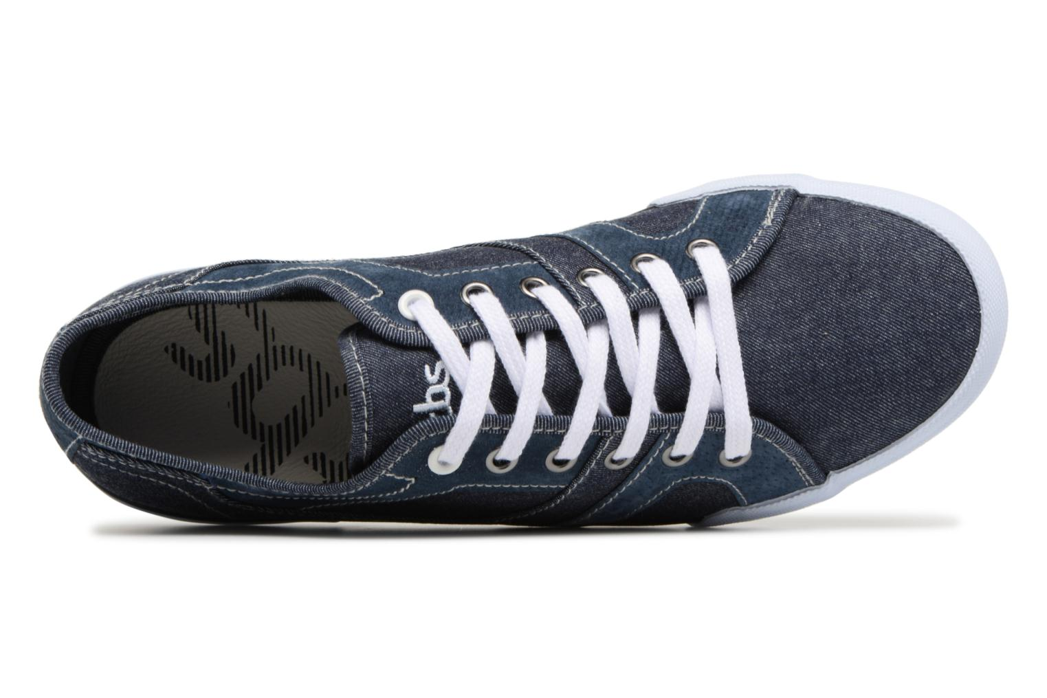 Trainers TBS Elliass-U8062 Blue view from the left