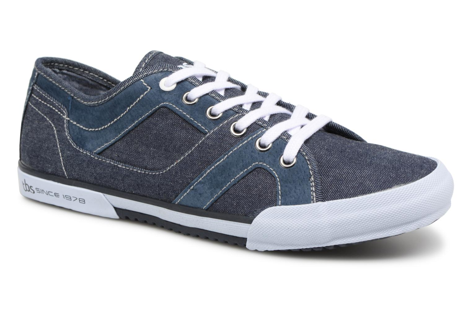 Trainers TBS Elliass-U8062 Blue detailed view/ Pair view