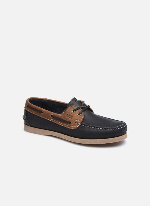 Chaussures à lacets TBS Phenis--E8C32 Bleu vue détail/paire