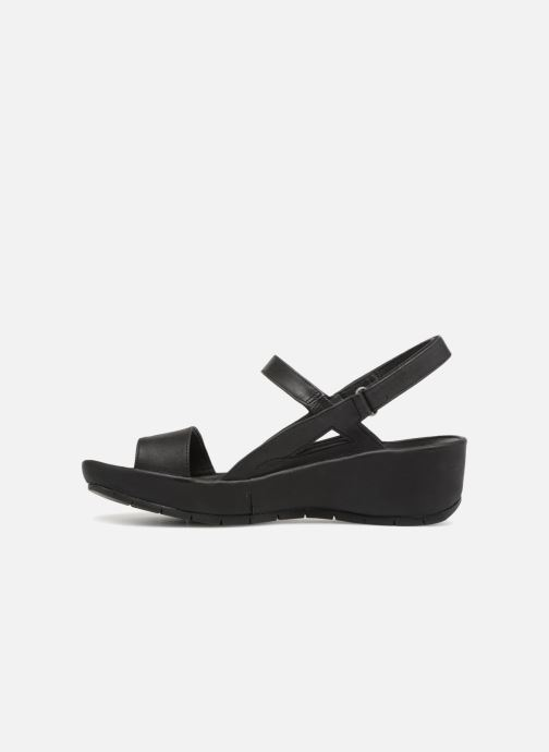 Sandals TBS Louloup-A7004 Black front view