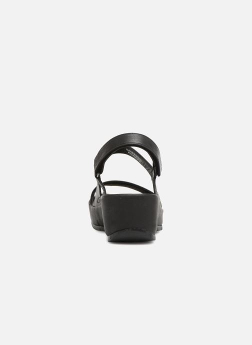 Sandals TBS Louloup-A7004 Black view from the right