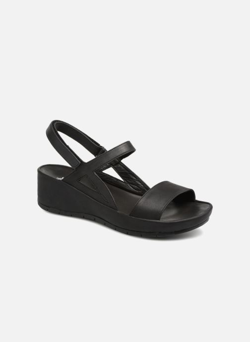 Sandals TBS Louloup-A7004 Black detailed view/ Pair view