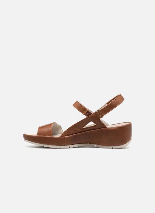 Sandali e scarpe aperte TBS Louloup-A7146 Marrone immagine frontale