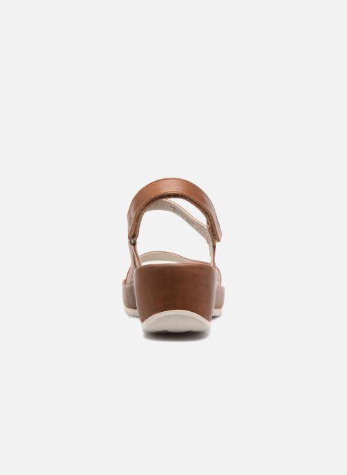 Sandali e scarpe aperte TBS Louloup-A7146 Marrone immagine destra