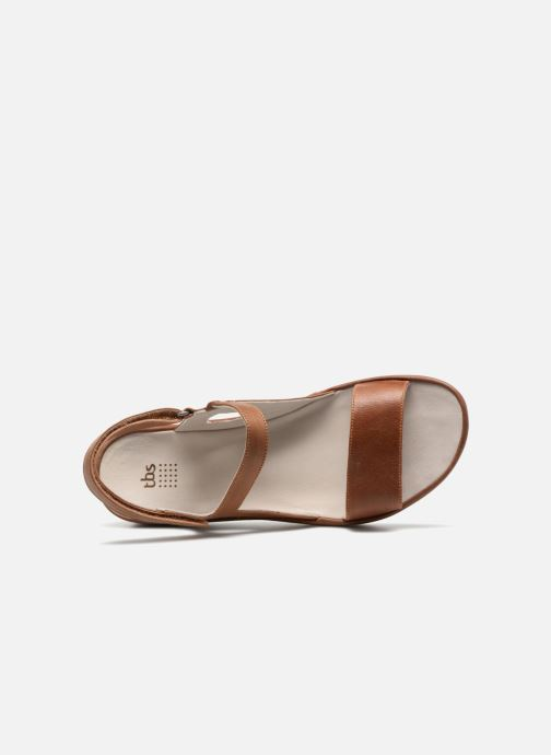 Sandali e scarpe aperte TBS Louloup-A7146 Marrone immagine sinistra