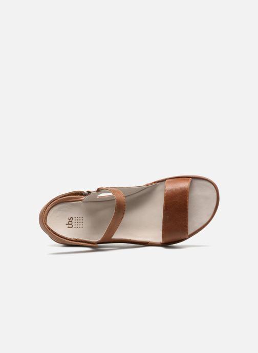 Sandales et nu-pieds TBS Louloup-A7146 Marron vue gauche