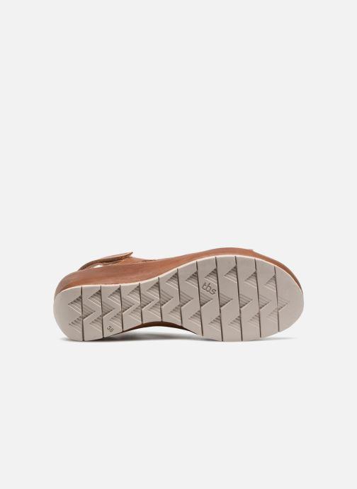 Sandales et nu-pieds TBS Louloup-A7146 Marron vue haut