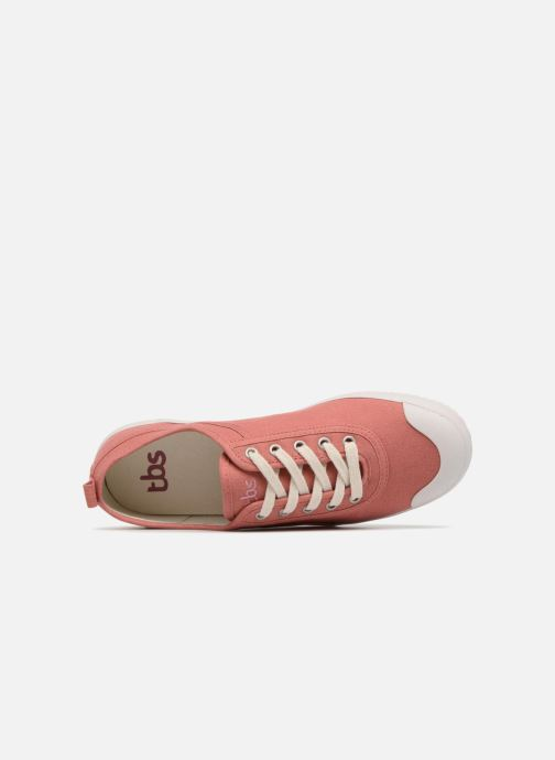 Sneakers TBS Pernick-T7306 Rosa immagine sinistra