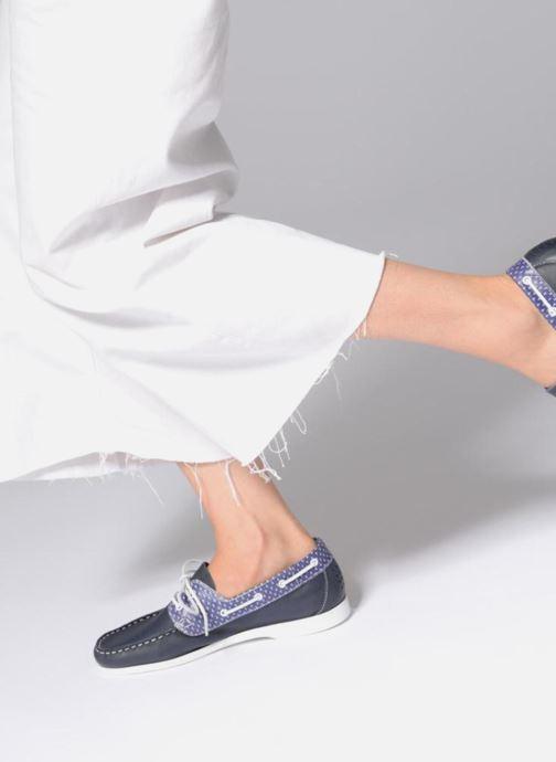 Chaussures à lacets TBS Pietra--L7032 Bleu vue bas / vue portée sac