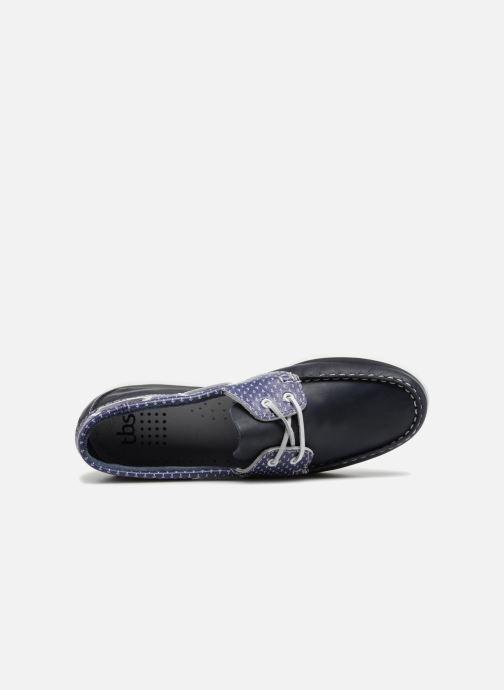 Scarpe con lacci TBS Pietra--L7032 Azzurro immagine sinistra