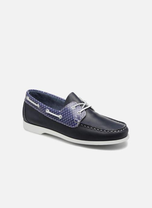Chaussures à lacets TBS Pietra--L7032 Bleu vue détail/paire