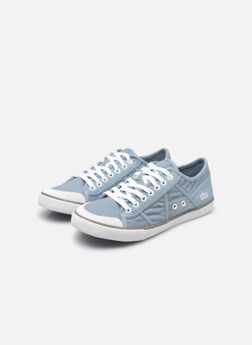 Sneaker TBS Violay--R7102 blau ansicht von unten / tasche getragen