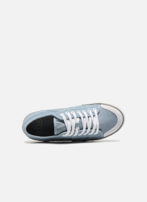 Sneakers TBS Violay--R7102 Azzurro immagine sinistra