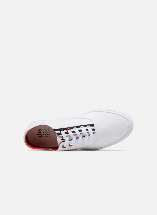 Sneakers TBS Polshoe-Q8007 Bianco immagine sinistra