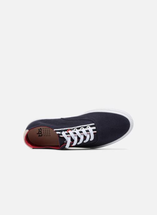 Sneakers TBS Polshoe-Q8032 Azzurro immagine sinistra