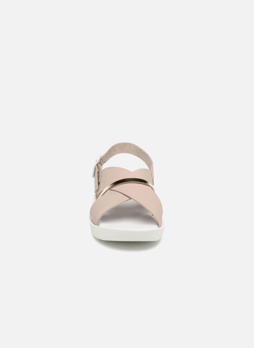 Sandales et nu-pieds TBS Nymphea-A7B83 Gris vue portées chaussures