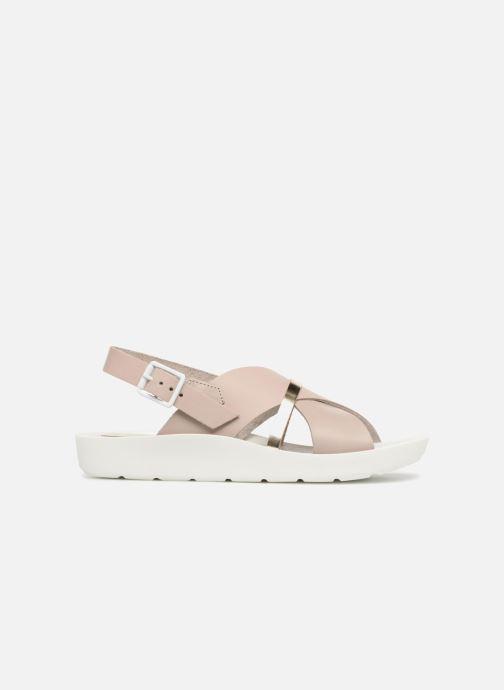 Sandales et nu-pieds TBS Nymphea-A7B83 Gris vue derrière