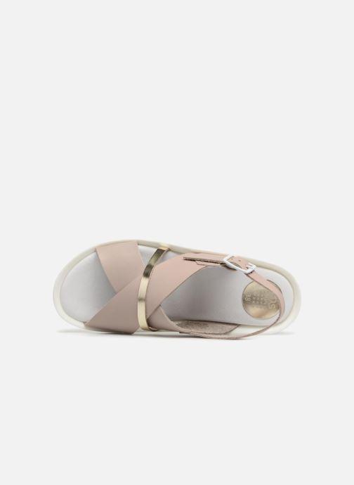 Sandales et nu-pieds TBS Nymphea-A7B83 Gris vue gauche