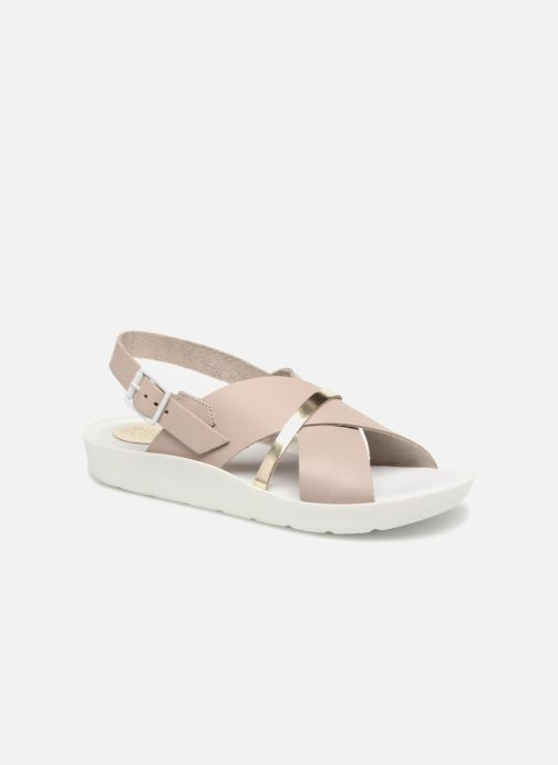 Sandales et nu-pieds TBS Nymphea-A7B83 Gris vue détail/paire