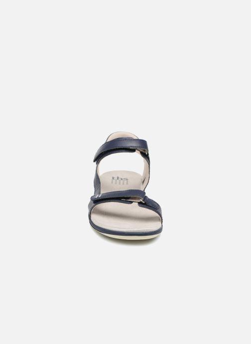 Sandales et nu-pieds TBS Raniah--F7M52 Bleu vue portées chaussures