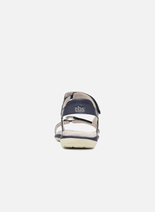 Sandales et nu-pieds TBS Raniah--F7M52 Bleu vue droite